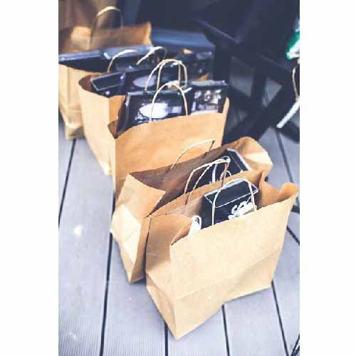 PaperBags-White – Small(Twistedhandle)