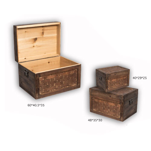 Wooden Boxes-Heavy Duty 3Psc
