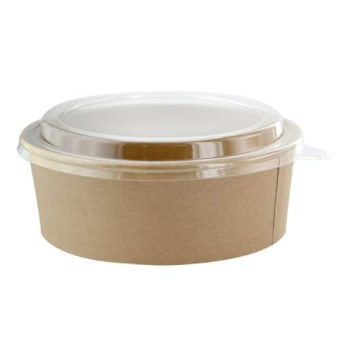 Kraft Salad Bowl PET lid 20 oZ-(45pc...