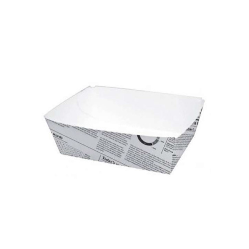 Food Tray Cardboard Newspaper 15x9x5...