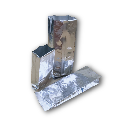 Aluminium Pouches- Medium 9x5x28CM -50Psc