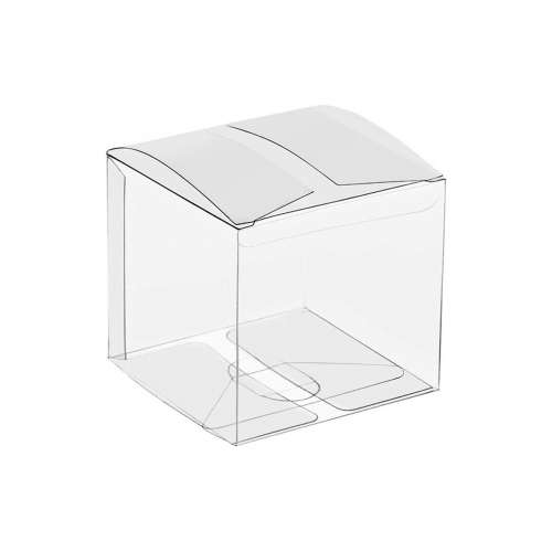 Transparent Plastic Box-10x10x10CM /...