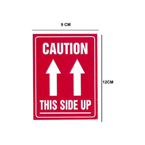 Lables Stickers- Caution This side U...